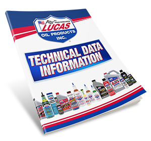 Lucas Oil Products Technical Data Information