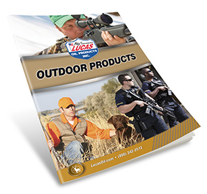 Lucas Oil Outdoor Products Catalog